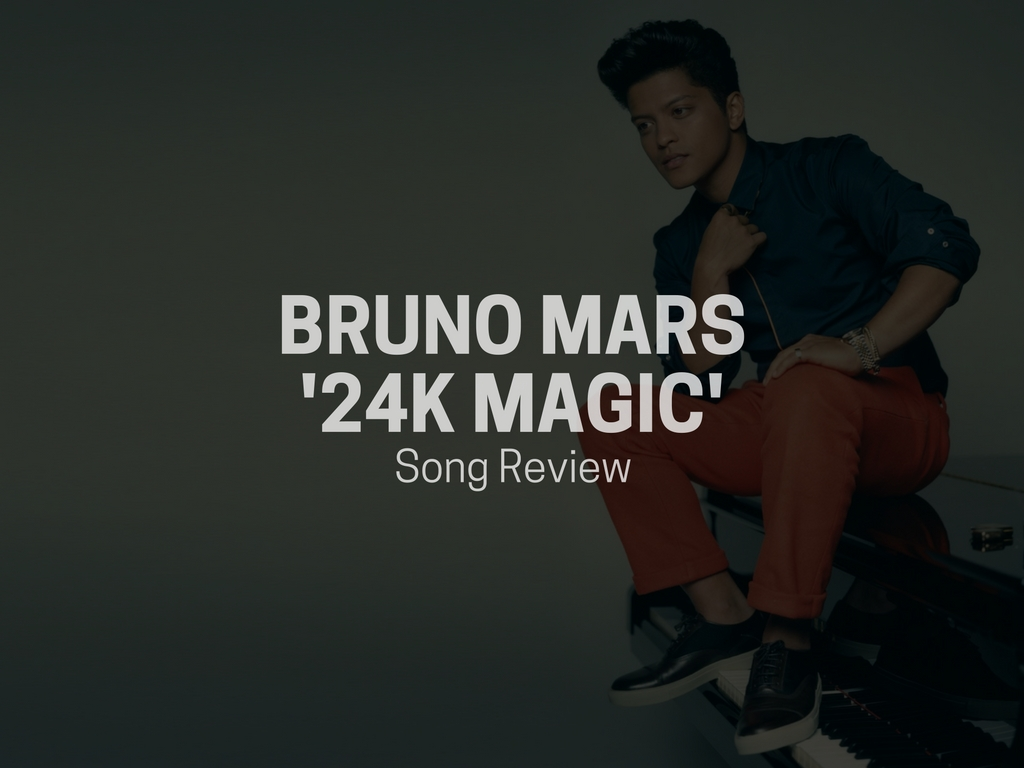 bruno mars 24k magic song review string buzz. Black Bedroom Furniture Sets. Home Design Ideas